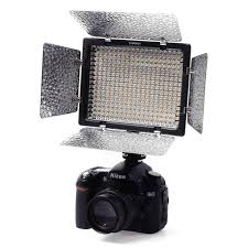 yongnuo yn 300 ii led camera video light adjustable color