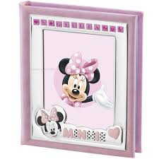 album minnie mouse valenti disney cm 20x25 pink album with