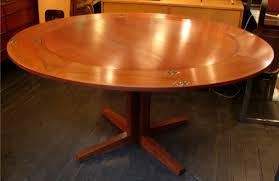 simple decoration round extension dining table unusual round
