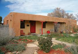 pueblo style house plans a 1930s pueblo revival style adobe home retrofitted with a rooftop