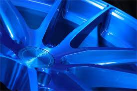 sc 1 brush azure blue wheel stance wheels