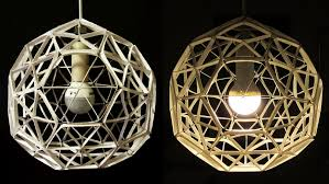 diy lamp geodesic sphere learn how to make a paper lamp