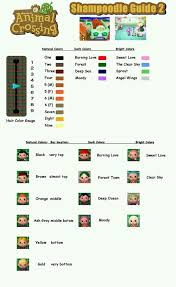 acnl hairstyle guide shoodle guide 2 shared by on we heart it