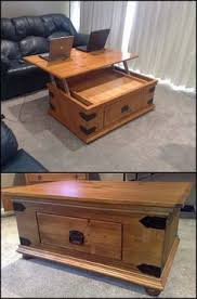 Top Woodworking Ideas For Beginners by How To Build A Lift Top Coffee Table Full Instructions For This