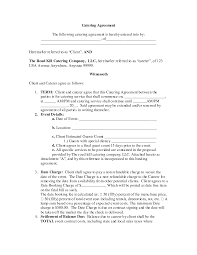 simple contract for services template free business letter
