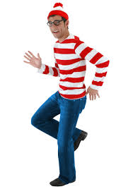 halloween costumnes where u0027s waldo costume u2013 exclusive sizes available