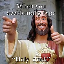 Accidentally Meme - when you accidentally type holy duck meme meme rewards