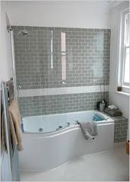 tiled bathrooms ideas small bathtubs kohler 4 small corner tub shower combo for