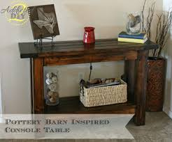 build a console table pottery barn inspired console table addicted 2 diy