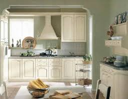 traditional country theme olive green kitchen paint color painting