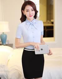 business blouses wholesale formal design summer fashion business