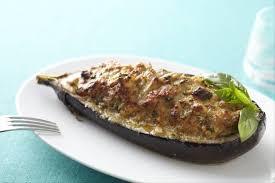 cuisiner aubergine facile recette de aubergines farcies au basilic facile et rapide