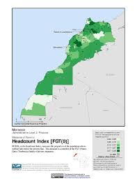 Marrakech Map World by Maps Poverty Mapping Sedac