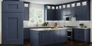 best price rta kitchen cabinets blue shaker recessed assembled kitchen