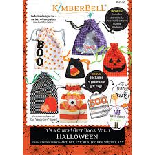 Gift Halloween by It U0027s A Cinch Gift Bags Volume 1 Halloween U2013 Kimberbell Designs