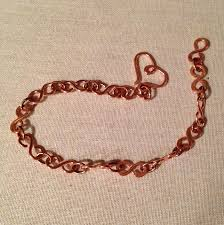 heart chain link bracelet images Infinity wire link bracelet with heart clasp tutorial the jpg
