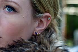 ear piercing hoop ear piercing advice ramshackle glam