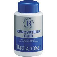 produit entretien cuir canapé rénovateur cuir belgom 250 ml norauto fr