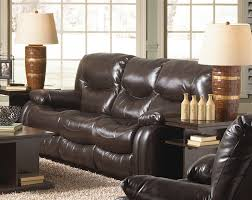 Catnapper Power Reclining Sofa Reclining Sofa In Mahogany Leather By Catnapper 4771