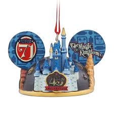 magic kingdom 45th anniversary light up ear hat ornament walt