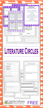 Blank Curriculum Map by Getting Started With Literature Circles The Curriculum Corner 4 5 6