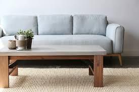 Concrete Coffee Table Concrete Coffee Table Furniture Maison