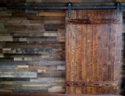 Reclaimed Wood Barn Doors by Custom Barn Doors Available Per Order Pictured Here In A Cross