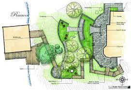 site plan design residential conceptual planting and site plan landscape plans