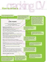 summary of qualifications on a resume how to write a cracking school leaver cv targetcareers how to write a cracking cv