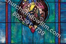 Decorative Window Film Stained Glass Church Window Film Decorative Stained Glass Window Film