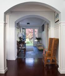 Home Interior Arch Designs by Hall Design Stone To Hardwood Floors Like Final Cuts For House