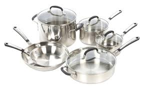 calphalon simply stainless steel 10 piece cookware set u0026 reviews