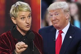 ellen halloween horror nights ellen says trump is not welcome on her talk show page six