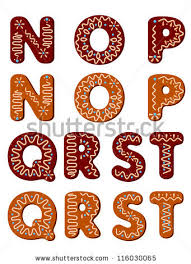 gingerbread letters stock images royalty free images u0026 vectors