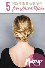25 best easy formal hairstyles ideas on pinterest simple hair
