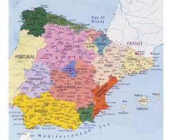 Map Of France And Spain by Maps Of Spain Detailed Map Of Spain In English Tourist Map