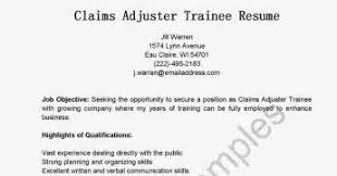 property claims adjuster resume claims examiner resume template resume claims examiner