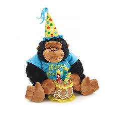 singing birthday delivery happy birthday musical monkey showcase your special greetings of