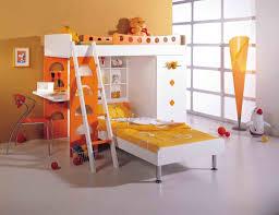 bedroom minimalist two floor wooden bunk beds for kids with dolls bedroom sunburst design bunk beds for kids with orange cone shaped tall floor lamp also