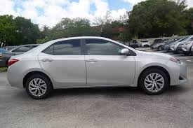 new 2017 toyota corolla le 4dr car in miami c695606 toyota of
