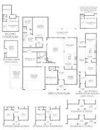 the magnolia the grove new home floor plan midlothian texas