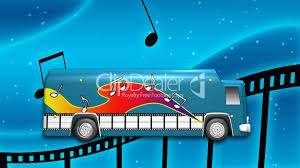 monster truck music video music video bus with green screen hd1080 royalty free video and