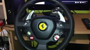 thrustmaster 458 review 458 italia steering wheel review test
