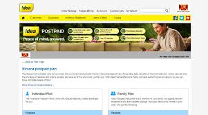 idea plans idea nirvana postpaid plans start at rs 389 up to 220gb data