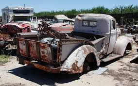 car yard junkyard junkyard vintage cars turners auto wrecking fresno california 203