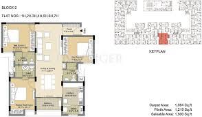 floor plans 1500 sq ft 1500 sq ft 3 bhk floor plan image arihant housing esta the one