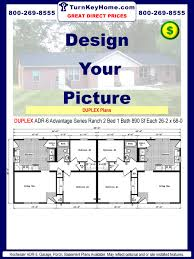 modular homes duplex plans priced