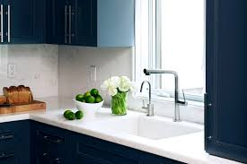 Dark Blue Kitchen Two Blue Galley Kitchens Cococozy