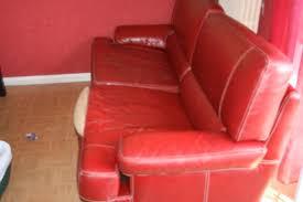 cuir canapé craquelé photo canape fauteuil
