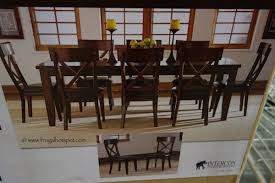 9 dining room set intercon heritage brands sonoma 9 dining set costco